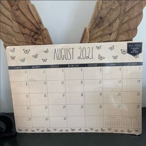 Large Desk calendar AUG 2021-DEC 2023 Rae Dunn